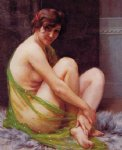guillaume seignac la paresseuse painting