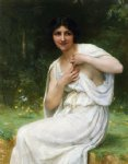 guillaume seignac preparing for the bath painting