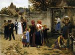 guillaume seignac the wedding procession painting