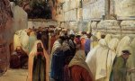 jews at the wailing wall by gustav bauernfeind posters