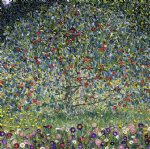 gustav klimt apple tree ii painting