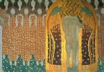 beethoven frieze by gustav klimt painting