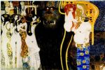 entirety of beethoven frieze left5 by gustav klimt original paintings