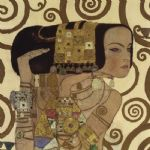 gustav klimt expectation (detail) paintings