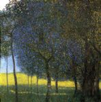gustav klimt fruit trees painting-79048