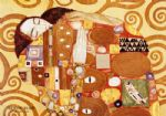 fulfillment stoclet frieze by gustav klimt painting