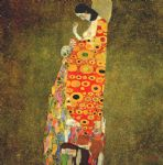 hope by gustav klimt painting