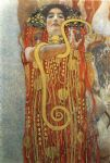 gustav klimt famous paintings - hygieia (ii) by gustav klimt