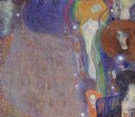 irrlichter (will o the wisps) by gustav klimt painting