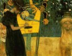music by gustav klimt painting