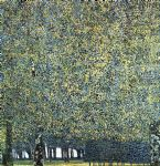 park by gustav klimt painting