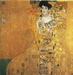 portrait of adele bloch bauer i by gustav klimt painting
