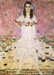 portrait of maeda primavesi by gustav klimt painting