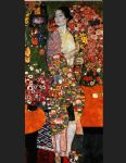 the dancer by gustav klimt painting