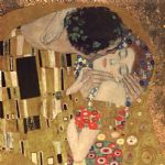 gustav klimt the kiss detail posters