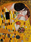 the kiss ii by gustav klimt painting