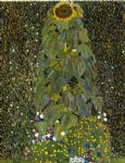 gustav klimt the sunflower prints
