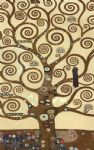gustav klimt the tree of life (gold foil) painting 84295