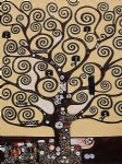tree of life ii by gustav klimt painting