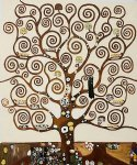 gustav klimt tree of life iii painting-33103