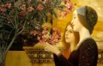 gustav klimt two girls with an oleander posters