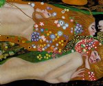 gustav klimt water serpents iii painting 33104