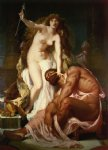 hercules at the feet of omphale by gustave boulanger posters