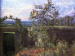 gustave caillebotte landscape near yerres painting 32907