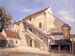 house watercolor paintings - meaux. effect of sunlight on the old chapterhouse by gustave caillebotte