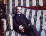 gustave caillebotte portrait of a man ii painting