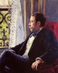 gustave caillebotte portrait of a man painting-32933