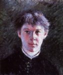 gustave caillebotte portrait of a schoolboy painting-32934