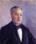 gustave caillebotte portrait of jean daurelle painting-32939