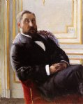 gustave caillebotte portrait of jules richemont painting-32941