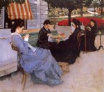portraits original paintings - portraits in the countryside by gustave caillebotte