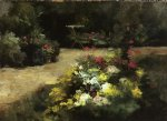 gustave caillebotte the garden painting