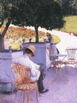 tree original paintings - the orange trees by gustave caillebotte