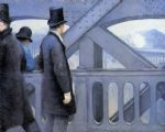 gustave caillebotte acrylic paintings - the pont de europe by gustave caillebotte