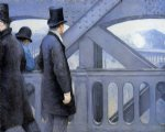 the pont de europe by gustave caillebotte painting