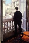 gustave caillebotte young man at his window painting 85355