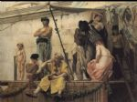 gustave clarence rodolphe boulanger original paintings - the slave market by gustave clarence rodolphe boulanger