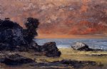 gustave courbet after the storm painting