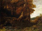 gustave courbet entering the forest paintings