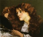 gustave courbet portrait of jo the beautiful irish woman painting 32777
