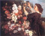 the trellis by gustave courbet acrylic paintings