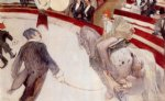henri de toulouse lautrec at the cirque fernando the ringmaster painting