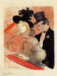 henri de toulouse lautrec at the concert painting