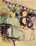sad acrylic paintings - aux ambassadeurs gens chics by henri de toulouse lautrec