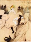 henri de toulouse lautrec le goulue and valentin the boneless one painting