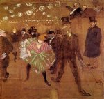 henri de toulouse lautrec le goulue dancing with valentin painting